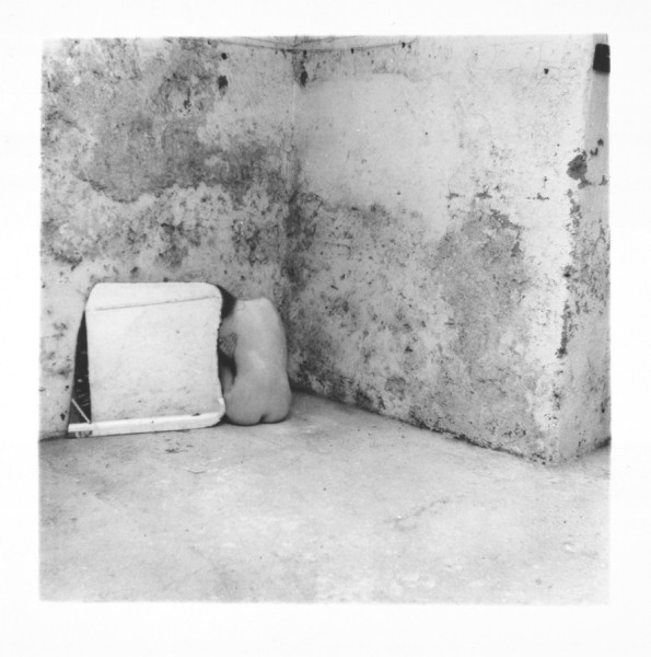 Self-Deceit #6, Rome, Italy 1978 silver gelatin Estate print, edition of 40 9.0 x 9.0 cm (image size) 44.9 x 44.3 cm (framed size)